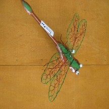 Dragon Fly. Wire Wings