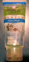 1 x pimple face wash