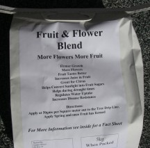 New Bag Fruit and Flower 5kg