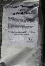 new bag BT Fruit trees 10kg