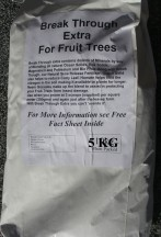 new bag BT Fruit trees 5kg