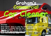 Grahams Car Cleaner