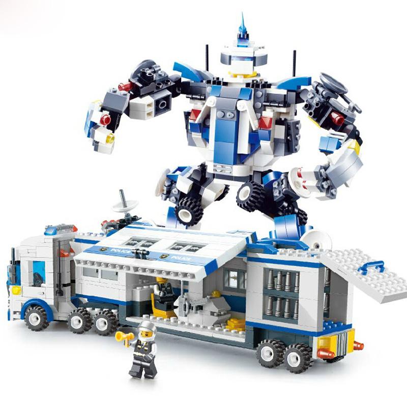 City mobile police station plus mini figures bricks - Plus belle construction lego ...